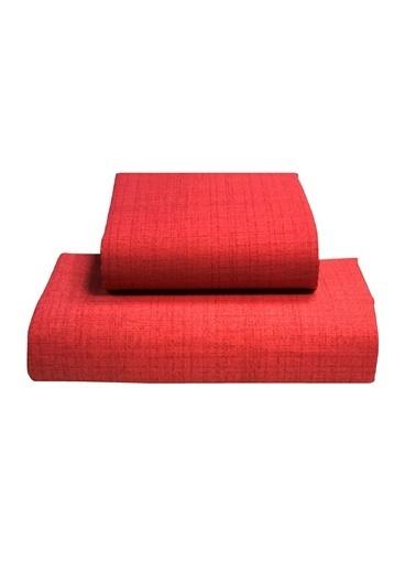 Alla Turca Çift Kişilik Lux Pike Seti-Beyaz/Kırmızı Beyaz